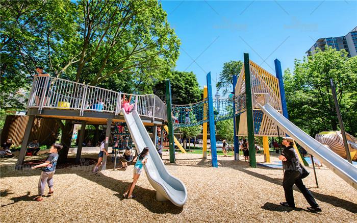 儿童无动力乐园设计 户外创意儿童游乐空间